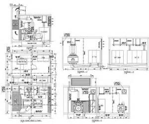 House Floor Plan Generator mep mekanikal elektrikal plambing ruang genset dan trafo