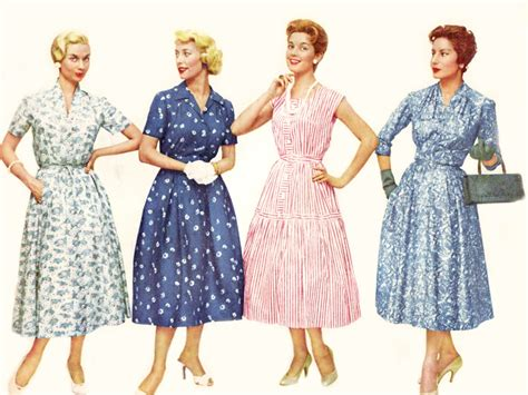 1950s fashion back in 21st century