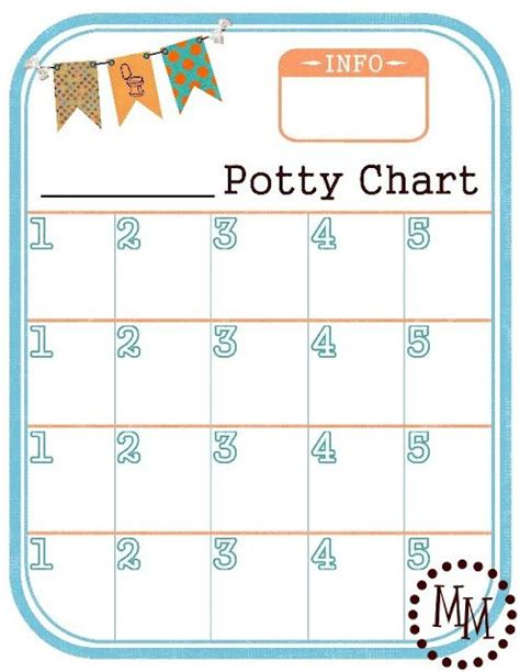 printable star chart for toilet training free printable potty chart i use this as incentive for