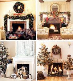 Xmas Decoration Ideas 33 mantel christmas decorations ideas digsdigs