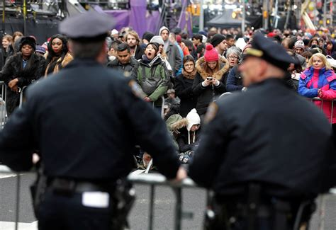 new year festival nyc 2015 new year revelers unfazed by attack worries in most