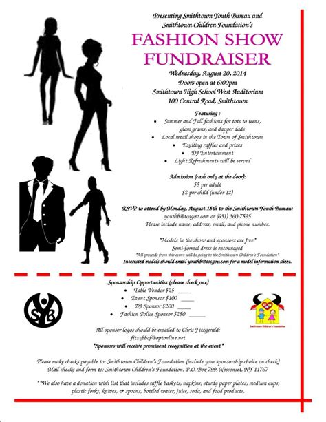 fashion show ticket template fashion show flyer images