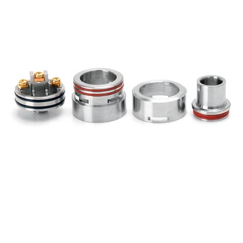 Helios M Plastic Rda Rebuildable Atomizer m atty style rda 22mm 316ss silver rebuildable atomizer