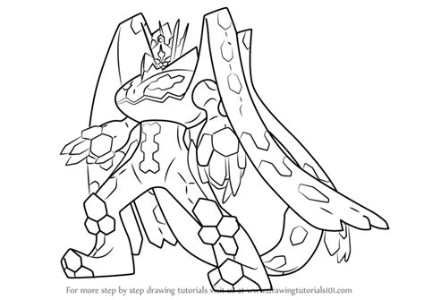 pokemon coloring pages zygarde zygarde pokemon sun images pokemon images
