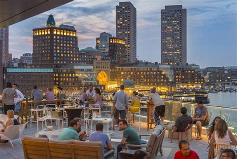 top bars boston top boston rooftop bars where to sip soak in the city skyline