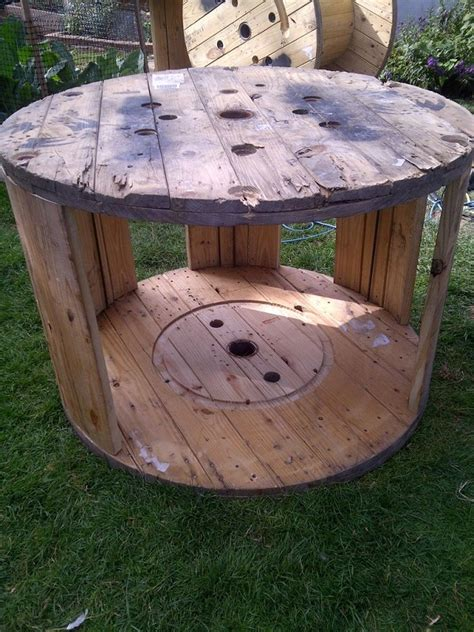 diy cable spool duck house home design garden architecture blog magazine