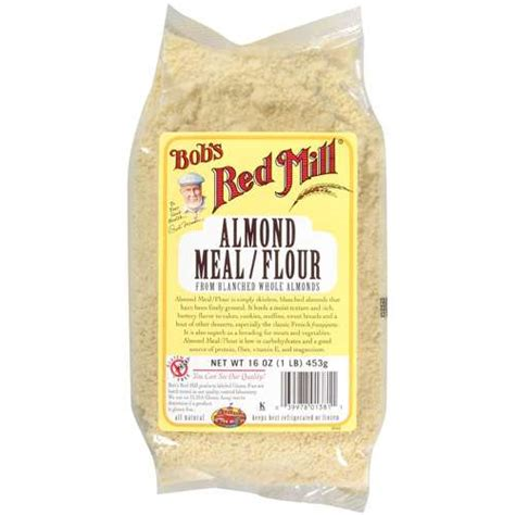 bob s red mill almond meal flour from blanched whole almonds 16 oz walmart com