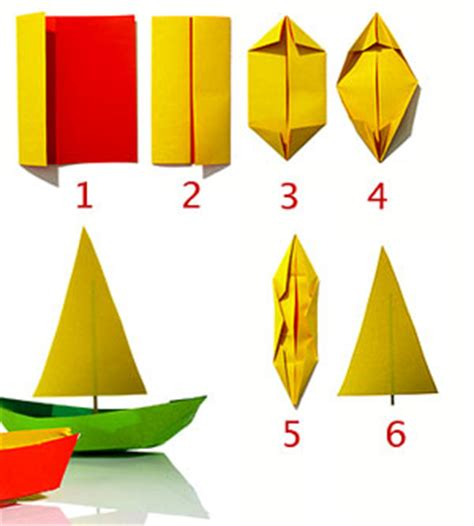 Make Paper Sailboat - craft express make a paper boat rudy and the dodo