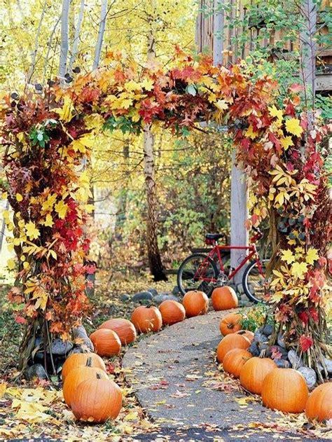 fall wedding decoration ideas romantic decoration