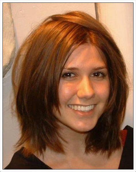 medium haircuts for thick hair pinterest 17 best medium length hairstyles for thick hair images on
