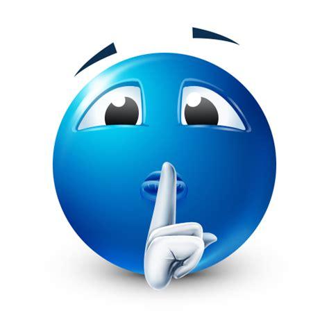 emoji quiet keep quiet smiley symbols emoticons