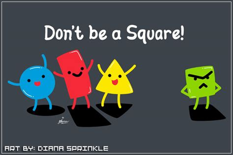don t be a books don t be a square