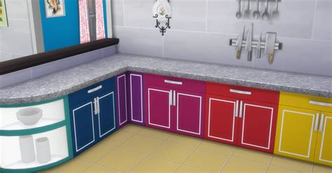 cool things for kitchen my sims 4 blog cool kitchen stuff counters in 44 recolors