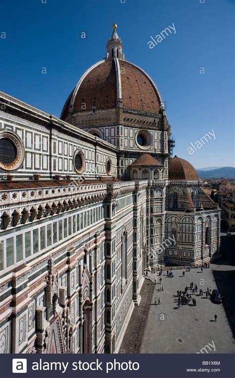 cupola a firenze brunelleschi cupola florence firenze stock photos