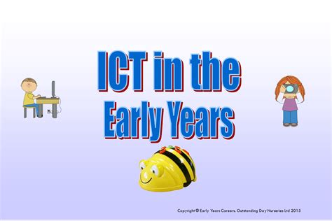 new year ict eyfs using ict in early years settings early years careers