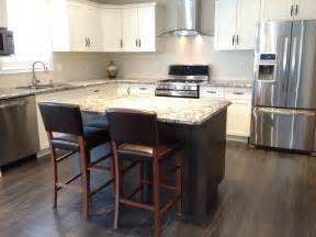 tile floors backsplash kitchens island subway tile backsplash white cabinets island