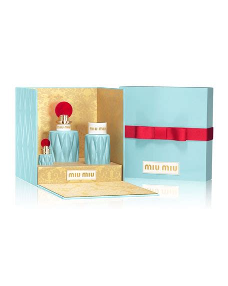 Set Miu Miu miu miu miu miu eau de parfum 50 ml and matching items