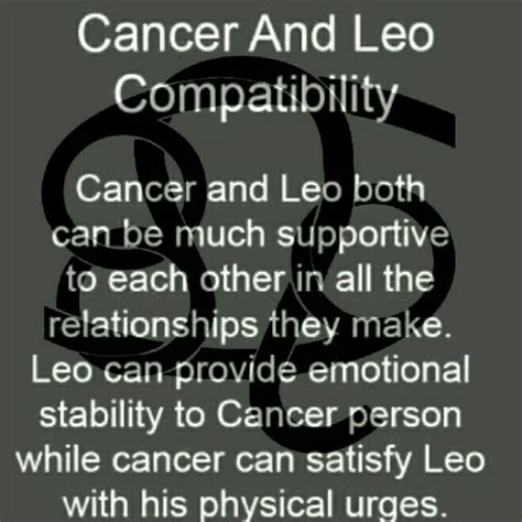 cancer and leo compatibility my blends pinterest leo