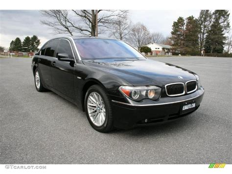 2009 bmw 745li jet black 2005 bmw 7 series 745li sedan exterior photo