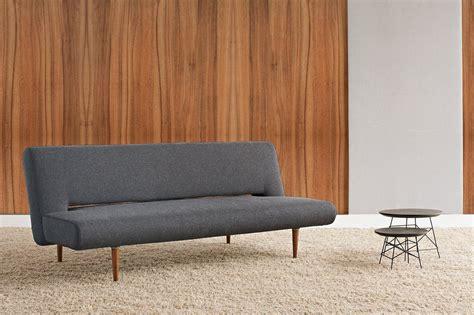 sofa ohne rückenlehne innovation schlafsofa 187 unfurl 171 im scandinavian design