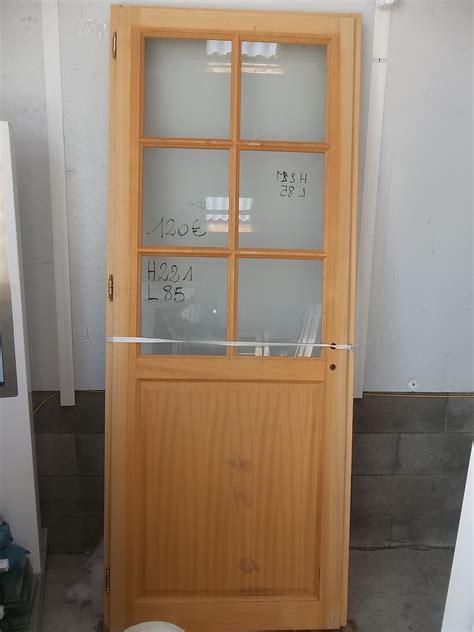 porte a porte bois vitr 233 e int 233 rieure urbantrott