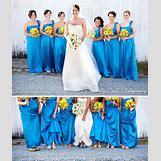 Bright Blue Bridesmaid Dresses   550 x 654 jpeg 88kB