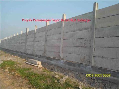 Panel Beton Per Meter 0812 9001 5559 Pagar Beton Panel Pasang Pagar Panel Precast