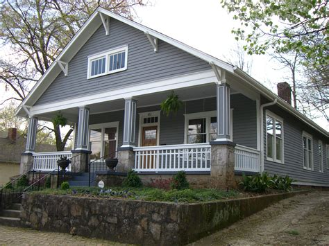 finished porch craftsman style homes pinterest bungalow style 9 love everything about this one the