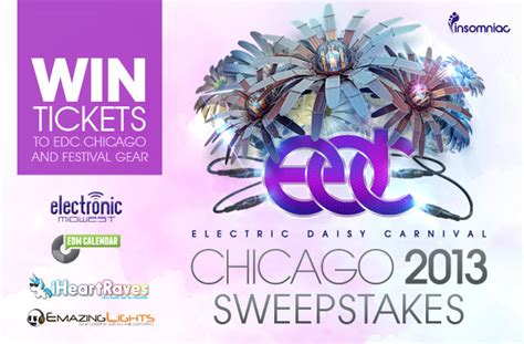 Chicago Sweepstakes - giveaway edc chicago sweepstakes electronic midwest