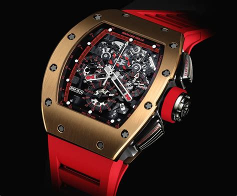 Ntpt Carbon Limited Edition Movement Custom Modified Swiss 7750 F 1 richard mille releases the new demon chronograph