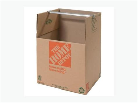 4 x home depot wardrobe boxes south
