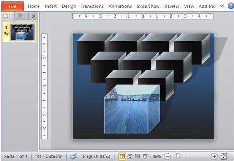How To Create An Animated Picture Cube In Powerpoint How To Create Template For Powerpoint
