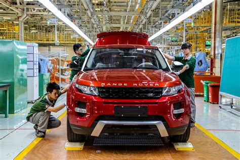 land rover chinese range rover evoque now made in china as well carscoops