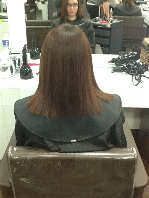 what is a square cut in hairstyles 9 best one length technique images on pinterest hair cut