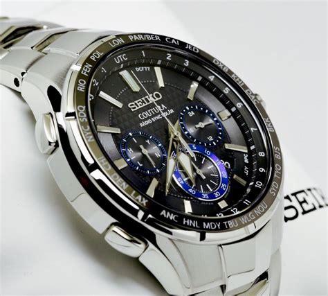 Seiko Solar Chronograph Stainless new seiko ssg009 coutura radio sync solar chronograph