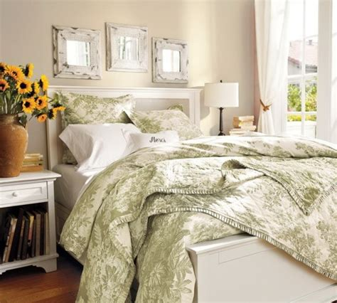 green and white comforter green and white toile comforter inspiration bedrooms