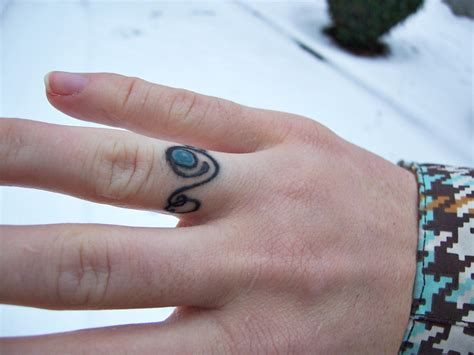 tribal wedding ring tattoos make a rocking by astonishing ring tattoos