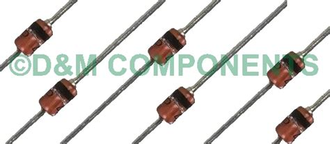 zener diode package types 1w zener diodes various voltages 1w pack of 2 10 or 20 ebay