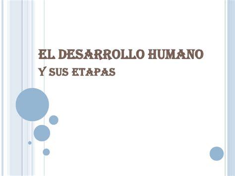 el desarrollo de competencias socioemocionales y su estapas del desarrollo humano