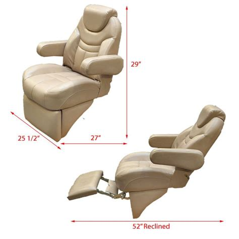reclining captains chairs reclining captains chair boat chairs seating