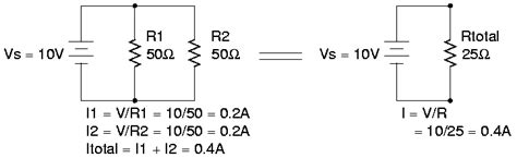 how to calculate voltage across resistors in parallel untitled ccrma stanford edu