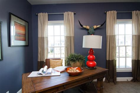 Bright Cow Skull fashion Louisville Eclectic Home Office Decoration ideas with Art blue blue