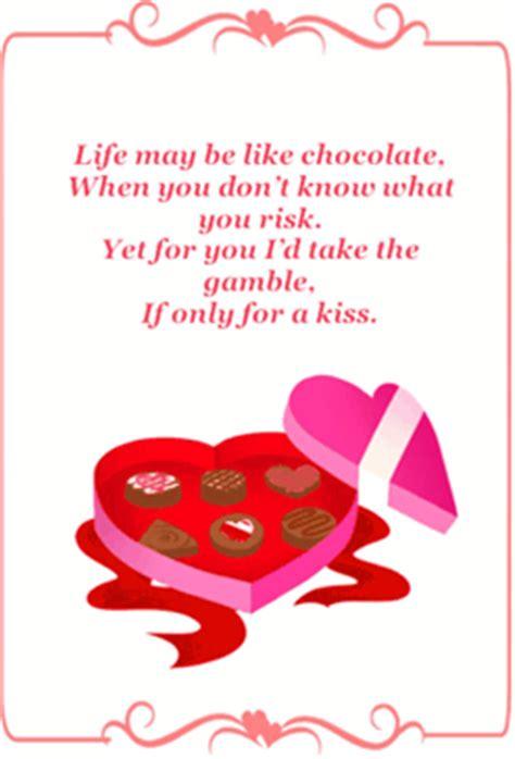printable valentines poems chocolate box poem valentines card printable