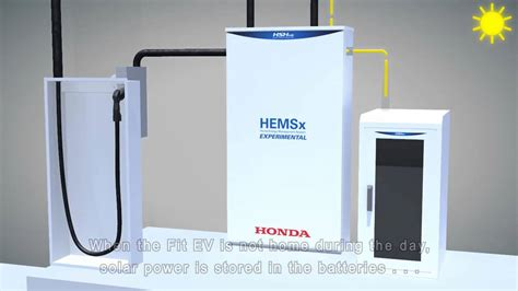 honda house honda home energy management system hems technical