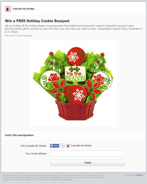 Woobox Sweepstakes Exles - build brand loyalty with holiday sweepstakes woobox blog