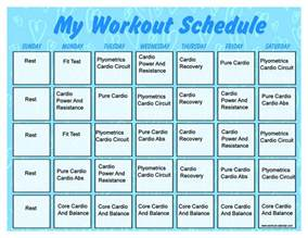 Monthly Workout Calendar Template by Printable Monthly Workout Calendar 2016 Calendar