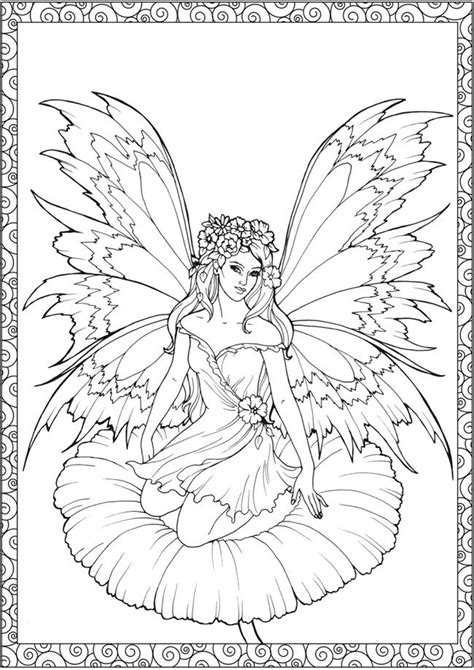 enchanted fairies coloring book books 25 best ideas about coloring pages on
