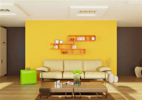 Wohnzimmer Gelb Orange by Wandfarben Kombinationen Die Ihre Aufmerksamkeit Anziehen