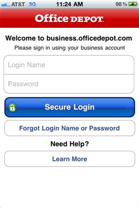 office depot coupons for business solutions division office depot 174 business solutions 1 0 3 app for ipad