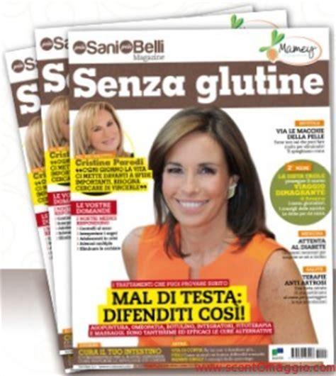 riviste gratis a casa rivista gratis a casa senza glutine